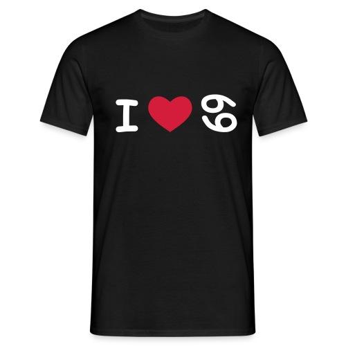 I love 69 Shirt (Männer) - Männer T-Shirt