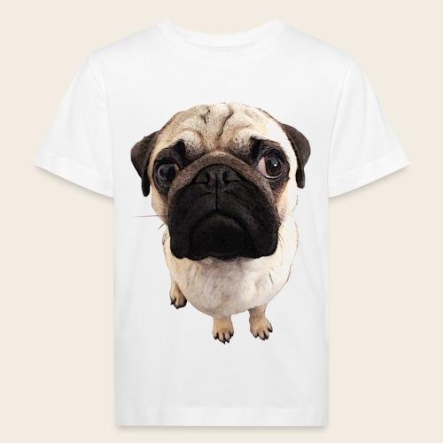 Kinder Mops-Shirt - Kinder Bio-T-Shirt