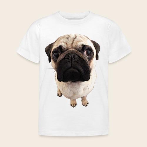 Kinder Mops-Shirt - Kinder T-Shirt