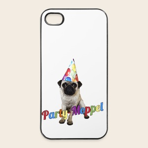 Phone Case Party-Moppel - iPhone 4/4s Hard Case