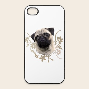 Mops-Portrait Phone Case  - iPhone 4/4s Hard Case