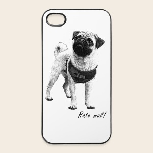 Mops Phone Case  Rate mal - iPhone 4/4s Hard Case