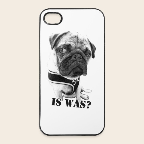 Mops Phone Case Is Was - iPhone 4/4s Hard Case