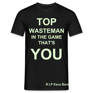 Esco Bars - Wasteman - Men's T-Shirt