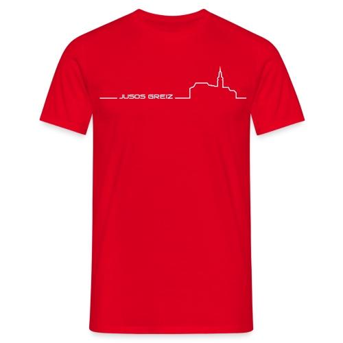 T-Shirt Male - Männer T-Shirt