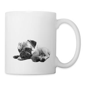 Entspannter Mops Tasse - Tasse
