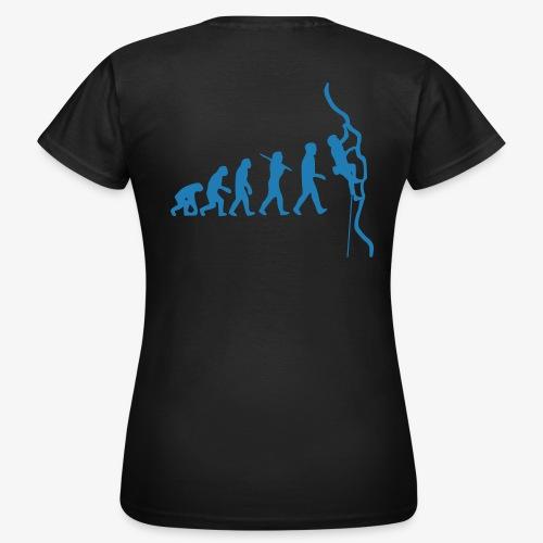 Blau Glitzer (women) - Frauen T-Shirt