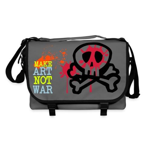 make art not war  - Shoulder Bag