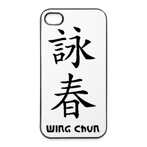 I Phone Hülle Wing Chun - iPhone 4/4s Hard Case