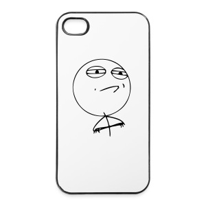 Challenge accepted iPhone - Coque rigide iPhone 4/4s