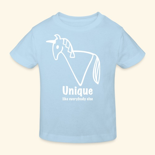 Unique - Kinder Bio-T-Shirt