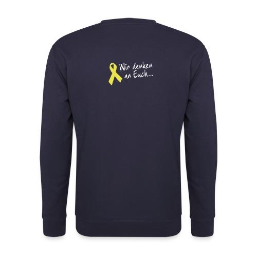 Gelbe Schleife Pullover - Männer Pullover