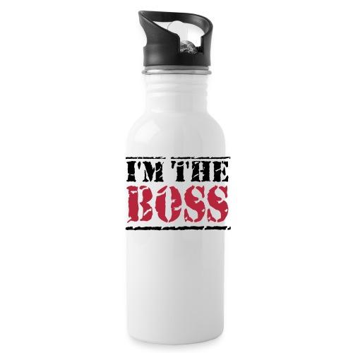 Vattenflaska: I'm the boss - Vattenflaska