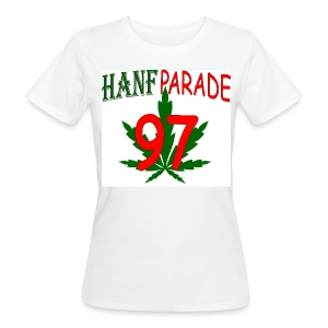 Hanfparade 1997 - BIO Girly-TShirt  - Frauen Bio-T-Shirt