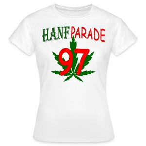 Hanfparade 1997 - Girly-TShirt  - Frauen T-Shirt