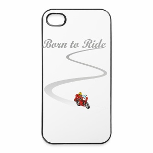 iPhone 4/4S - Born to Ride - iPhone 4/4s Hard Case