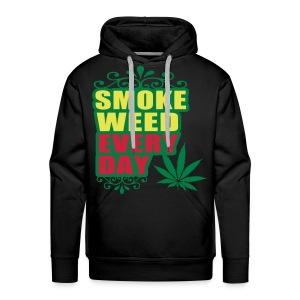 $$ Sweater Weed - Mannen Premium hoodie