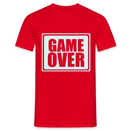 Game over - Miesten t-paita