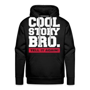 MannenSweater : Cool Story Bro.  - Mannen Premium hoodie