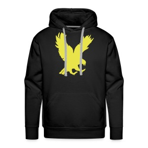 Show your support hoodie Eagle front - Mannen Premium hoodie