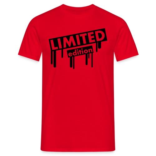 MannenT-Shirt : LimitedEdition - Mannen T-shirt