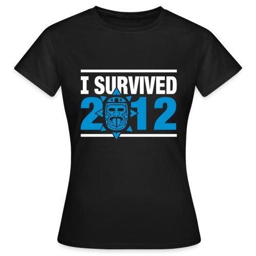[2012 tshirt] noir femme - Women's T-Shirt