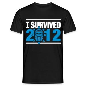 [2012 tshirt] noir - Men's T-Shirt