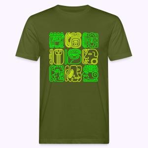 Bolontiku Tiki: Men's Oganic T-Shirt - Mannen Bio-T-shirt