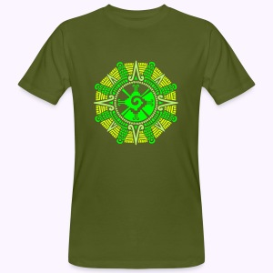 Moonstone Hunab Ku - UV Active Organic - Mannen Bio-T-shirt