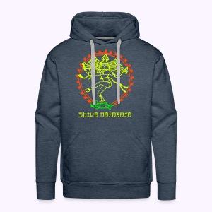 Shiva Nataraja Front + Aum on Backside - Men Hoodie - Mannen Premium hoodie