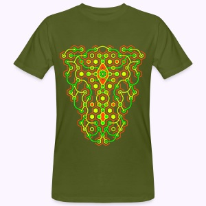 Cybertron UV Active Front - Organic - Mannen Bio-T-shirt