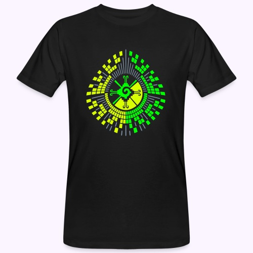 Hunab Ku DNA Tree - UV Active Organic - Ekologisk T-shirt herr