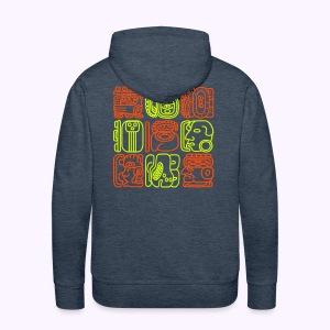 Bolontiku Tiki: Men's Zipp Hoodie - Mannen Premium hoodie