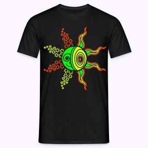 Sun-Moon-Stars: Men Classic Shirt - Mannen T-shirt