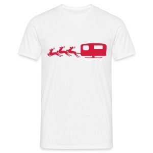 Santa's Sleigh - Men's T-Shirt