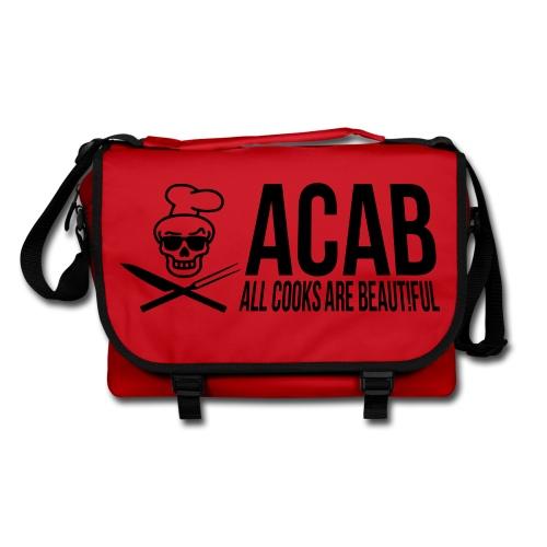 acab red - Umhängetasche