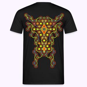 Cybertron Back: Men Classic Shirt - Mannen T-shirt