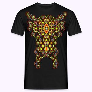 Cybertron Front: Men Classic Shirt - Mannen T-shirt