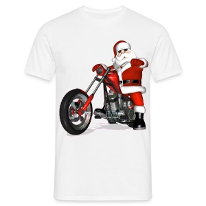 Santa Bike - Men's T-Shirt