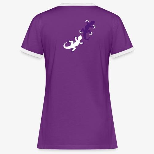 Geckos (women) - Frauen Kontrast-T-Shirt