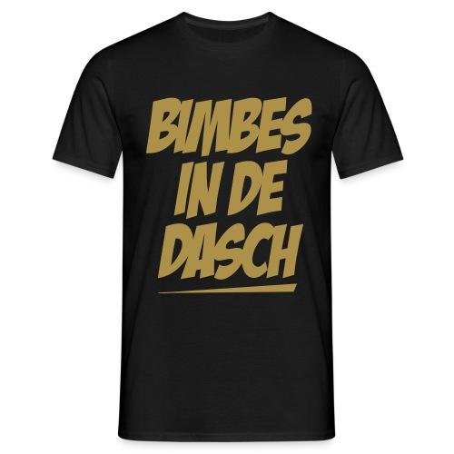 BIMBES IN DE DASCH (Gold Edition) - Männer T-Shirt