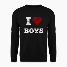 i_love_boys_vintage_hell Hoodies & Sweatshirts
