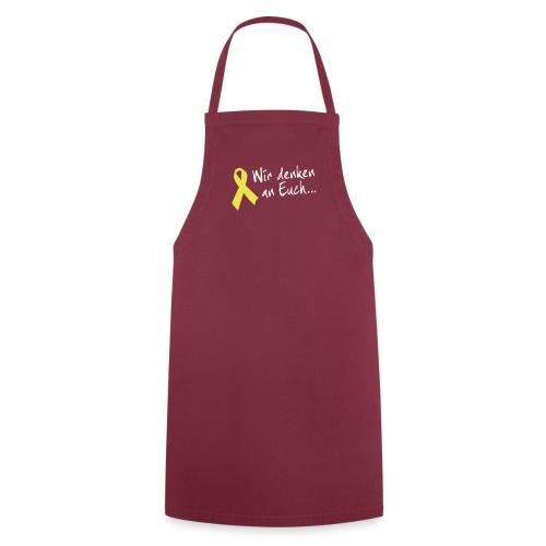 Schürze Gelbe Schleife - Kochschürze