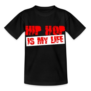 T shirt enfant hip hop is my life - T-shirt Enfant