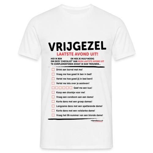 Vrijgezellenshirt voor de Man - Mannen T-shirt