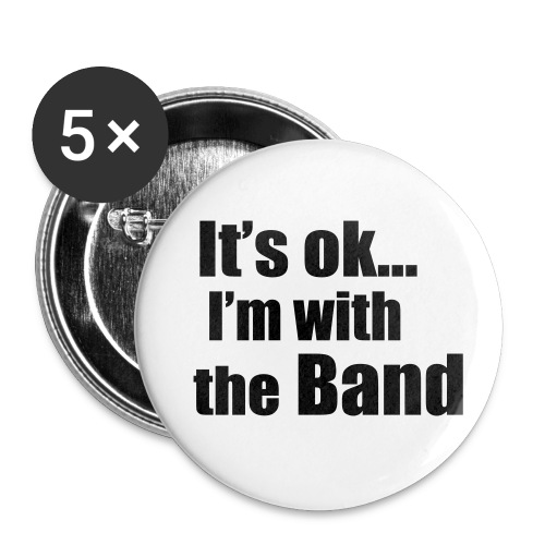 band button - Buttons large 2.2''/56 mm(5-pack)