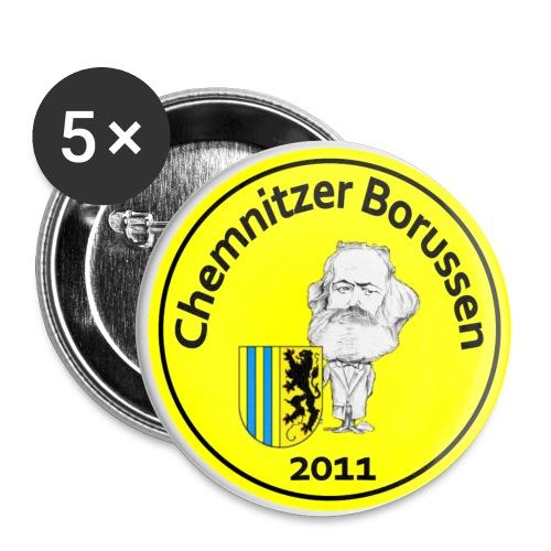 Buttons Gelb - Buttons klein 25 mm