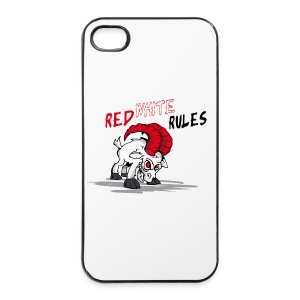 Red White Rules i Phone Case Geissbock - iPhone 4/4s Hard Case