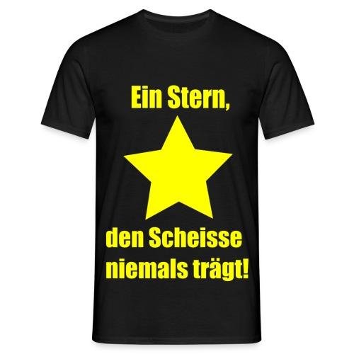 Ein Stern -Shirt - Männer T-Shirt