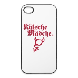 Kölsche Mädche i Phone Case Motiv Devil - iPhone 4/4s Hard Case